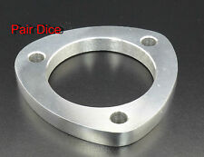 "2.5""  Exhaust 3 Holes 1/2"" Mild Steel FLANGE Pipe Collector CatBack"