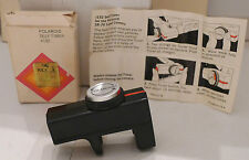 Polaroid SX-70 Film Camera #132 Self-Timer +Box And Instruction sheet TESTED