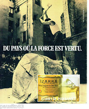PUBLICITE ADVERTISING 066  1978  la vieille liqueur du Pays Basque Izarra