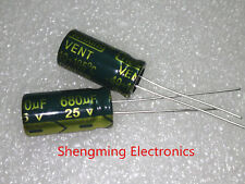 20pcs 680uF 25V 105°C Electrolytic Capacitor 25V 680UF 8x16mm
