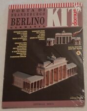 Domus Paper Architectural Model Kit Porta Di Brandeburgo Berlino Germania New