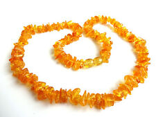 100% Genuine Baltic Amber Adult  Necklaces 17-18 inch - Choose your color!