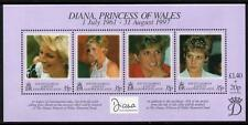 SOUTH GEORGIA MNH 1998 The Death of Princess Diana