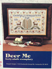 Sheepish Designs DEER ME sampler cross stitch pattern