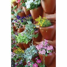 PlantScape Large Terra Vertical Garden Wall Hanging Plant Flower Planter Panel