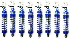 Hot Racing TD8100X06 Blue Aluminum Hd Big Bore Shocks (8) Traxxas T-Maxx E-Maxx