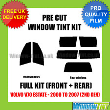 VOLVO V70 ESTATE 2000-2007 (2ND GEN) FULL PRE CUT WINDOW TINT KIT