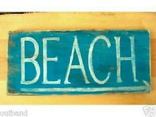 Primitive Sign BEACH ------------------- Shabby Sign