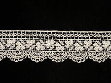 "Venise Lace in White Cotton - 15 yds for $18.99 - 1 3/4"" wide"