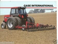 Farm Implement Brochure - Case IH - 365 568 415 9 - Seedbed Tillage Eqpt (F2099)