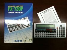 Only A Few Left  Casio Vintage FX 730 P personal handheld Computer  - New in Box