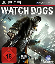 Sony PS3 Watch Dogs Hacker Online Open World Internet Watch_dogs Watchdogs OVP