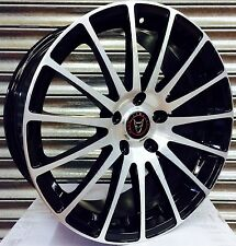"18"" WOLFRACE TURISMO ALLOY WHEELS 5X112 FITS MERCEDES C E GL S CLASS & VITO"
