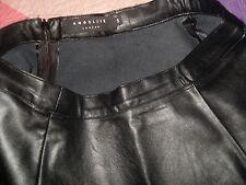 falda mini falda muy fina marca angel ye london  negro ver etiquetado 34-36