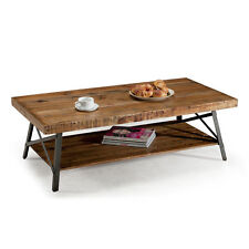 Emerald Urban Chandler Reclaimed Natural Wood Living Room Coffee Cocktail Table