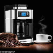 Automatic Grind and Brew 1.25L 10 Cup Filter Coffee Maker Machine Programmable