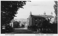 Clayton West High Street Huddersfield unused RP pc Scotts Series Ref A395