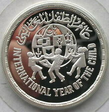 Egypt 1981 Year of Child 5 Pounds Silver Coin Proof