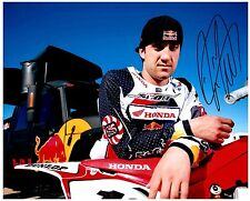 "DAVID DAVI MILLSAPS Signed Autographed SUPERCROSS Motocross ""AMA"" 8x10 Photo A"