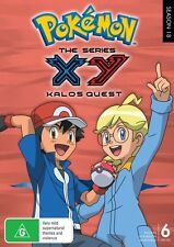 POKEMON XY : KALOS QUEST COMPLETE COLLECTION -  DVD - Region 2 UK Compatible