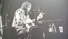 Neil Young Unplugged Banjo Single Page from Music Book 23x18cm