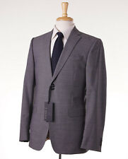 NWT $1395 Z ZEGNA Medium Gray Wool Suit 38 R (Eu 48) Regular-Fit Drop-7 Model