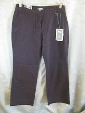 Sarah Jessica Parker Bitten Size 10 Low Rise Trousers Chino Pants NWT
