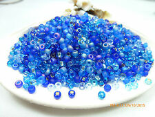 8/0 Blueberry Pie Mix Miyuki Glass Round Seed Beads 10 Grams