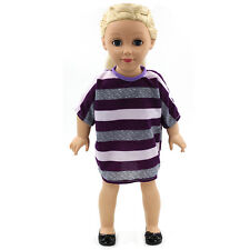 """Hot~Fits for 18"""" toy doll Madame Alexander Handmade fashion Doll Clothes dress"""