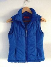 Funky Fish Soft Padded Gilet Body Warmer Size S Blue  R10506