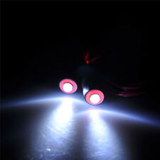2Leds Angel & Demon Eyes LED Headlight Back Light for 1/10 Crawlers red $ white