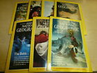 LOT of (7) 1989 NATIONAL GEOGRAPHIC Magazines