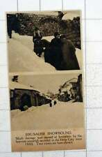 1920 Much Damage Caused In Jerusalem By Very Heavy Snowfall