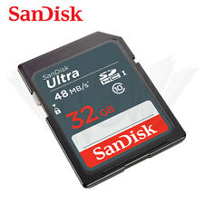 SanDisk 32GB Ultra Class 10 UHS-I SD 48MB/s SDHC memory card