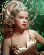 Anne Francis UNSIGNED photo - C514 - SEXY!!!!!