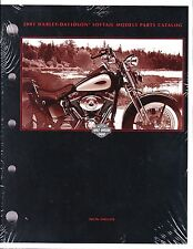2001 Harley Softail FX/FL Springer Deuce Heritage Fat Boy Parts Catalog Manual