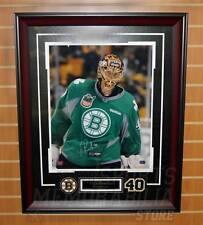 Tuukka Rask Boston Bruins Signed Autographed St.Pats Green Jersey 16x20 Framed