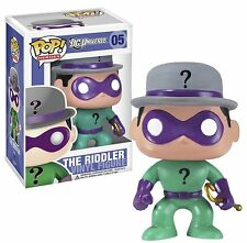 "FUNKO POP 2011 DC UNIVERSE THE RIDDLER #05 3 3/4"" RARE RETIRED FIGURE In Stock"