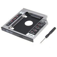 """SATA 2.5"""" HDD Festplatten Caddy Einbaurahmen Gehäuse 12,7mm"""