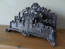 Letter holder with angels, very unique decorative design.