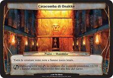 PLANECHASE PLANE PIANO Catacomba di Onakke - Onakke Catacomb MTG MAGIC PCh Ita