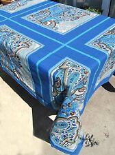 Tischdecke Filicudi v3 Blau 155x195 NEU Hst Bassetti