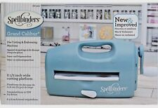 Spellbinders Grand Calibur Teal Die Cutting Machine GC-200 NEW IN BOX