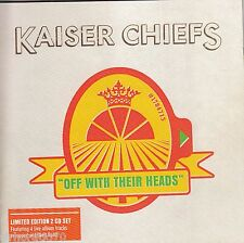 KAISER CHIEFS Off With Their Heads CD + Bonus Live Disc