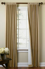 New Thermal Insulated Tab Top Curtains Drapes 80X72 Khaki/Tan  FREE SHIPPING!