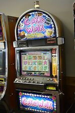 "IGT I-GAME COINLESS VIDEO SLOT MACHINE ""CAKE WALK"" LCD SCREEN"