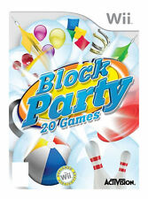 Wii-Block Party (Fun 4 All) /Wii  GAME NEW