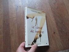 CHRISTINE ORBAN le silence des hommes + jaquette 2003 albin michel