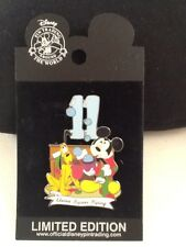 Disney - DLR - Twelve Days of Christmas (11 Pipers Pipingg) - Limited - Pin