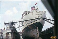 vintage slide (positive, dia)! ship Hada Bergen, Amsterdam  1960's, Netherlands